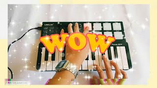 Wow - Post Malone (Midi Keyboard Cover) [instrumental] + 100 subs