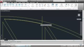 Autocad 18 - Drawing An Arch Truss Bridge Part 1 Of 2