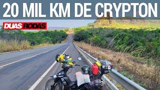 VIAJOU MAIS DE 20 MIL KM DE YAMAHA CRYPTON!