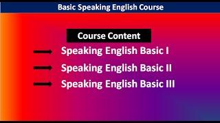 Spoken English Tutorial 1:ইংরেজিতে fluently কথা বলতে হলে যা আগে জানতে হবে | Basic speaking English