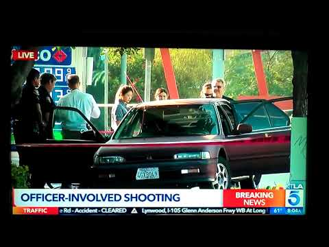 LONG BEACH P.D. SHOOT RUBBER BULLETS at man who TOOK COPS GUN 11/8/2017