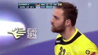 Deutschland - Spanien Handball-EM Finale: Alle Paraden von Andi Wolff