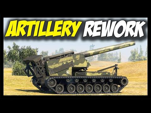 ► ARTILLERY REWORK - World of Tanks New Artillery/SPG Gameplay - SandBox Test Server