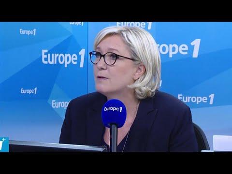 GPA, GM&S, immigration, sortie de l'euro : Marine Le Pen répond aux questions de Fabien Namias