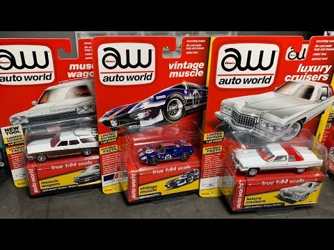 Lamley Unboxing: Don't Sleep On Auto World! The Best Release So Far, 2018 Premium 4!