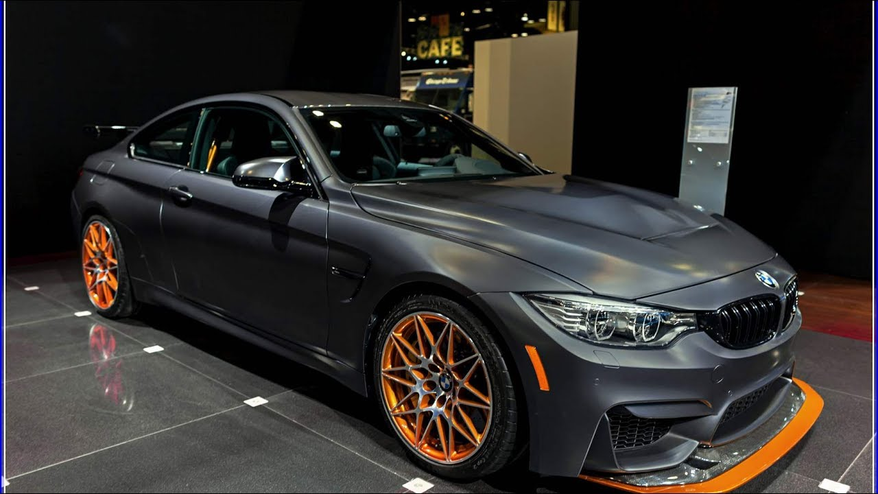 new bmw m4 2018 gts special editions interior exterior - youtube