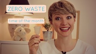 Mooncup - A Zero Waste Time-of-the-Month | Kate Arnell
