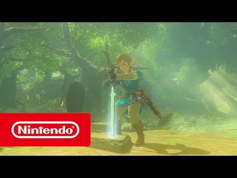The Legend Of Zelda: Breath Of The Wild - DLC Trailer (Nintendo Switch)