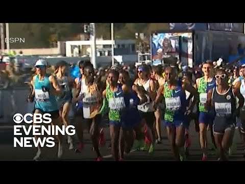 50,000 runners compete in New York City marathon