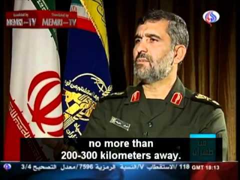 "Brigdier Generas Said ""Tel Aviv will be on fire before leaving Iranian airspace""."