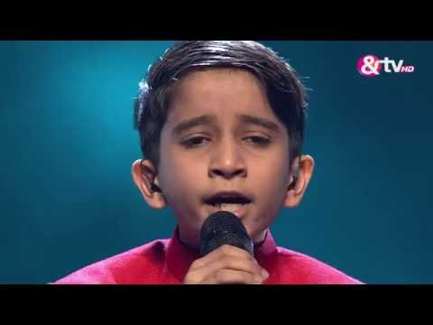 Vishwaprasad Ganagi  Abhi Mujh Mein Kahin  shows  Episode 25  The Voice India Kids
