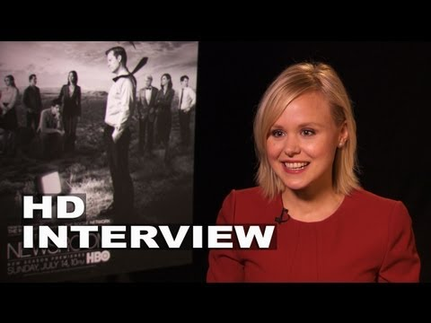 The Newsroom Season 2: Alison Pill Interview