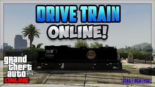 GTA 5 Online: Drive A Train Online + Download (Patch 1.24)