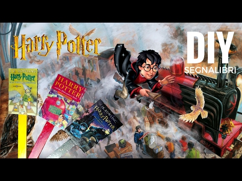 Top DIY - Harry Potter ⚡ - Segnalibri ✨📚 - YouTube TJ71