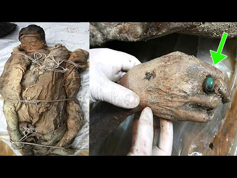 THEY DISCOVER A 740-YEAR UNDERGROUND BOX. AT THE OPENING THE SURPRISE WAS CHOATING... Old Mummy
