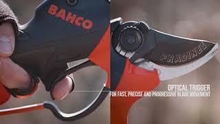 видео Садовый инструмент с электроприводом