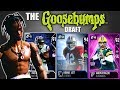 THE GOOSEBUMPS DRAFT! SCARIEST PLAYER TO PLAY AGAINST IN EVERY ROUND! Madden 18 Draft Champions