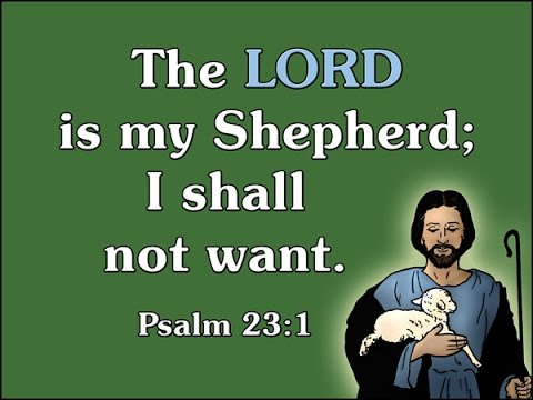 Bible in Sg  Psalm 23