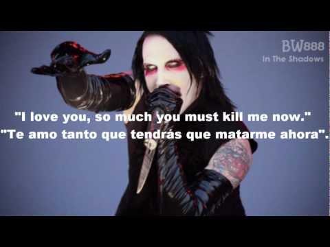 Marilyn Manson-If I Was Your Vampire (Subtitulado Español & Lyrics)