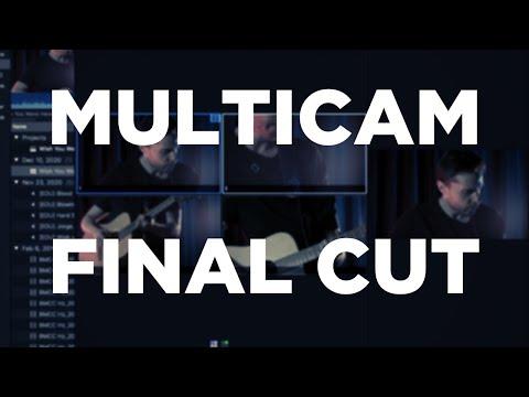 #Multicam Final Cut #VideoClipe (#Editar várias câmeras)