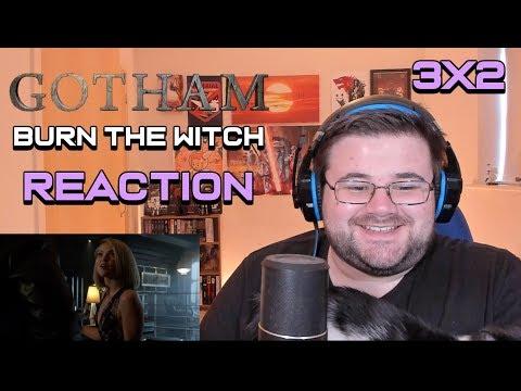 "Gotham - Se3 Ep2 - ""Burn the Witch"" - Reaction"