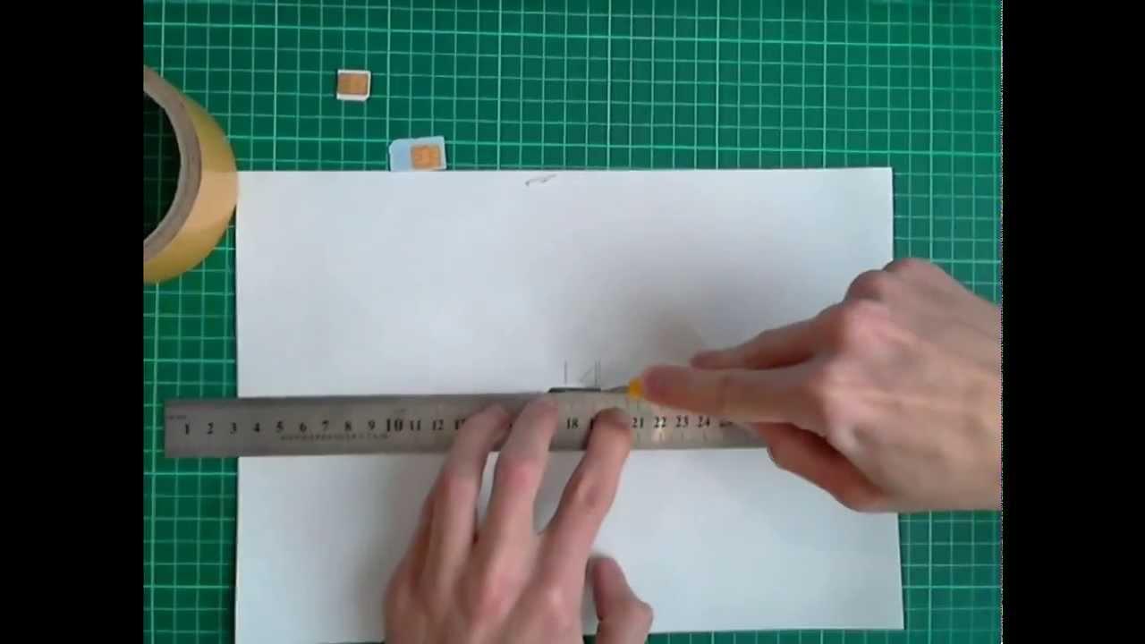 Как из симки сделать микросимку фото 923