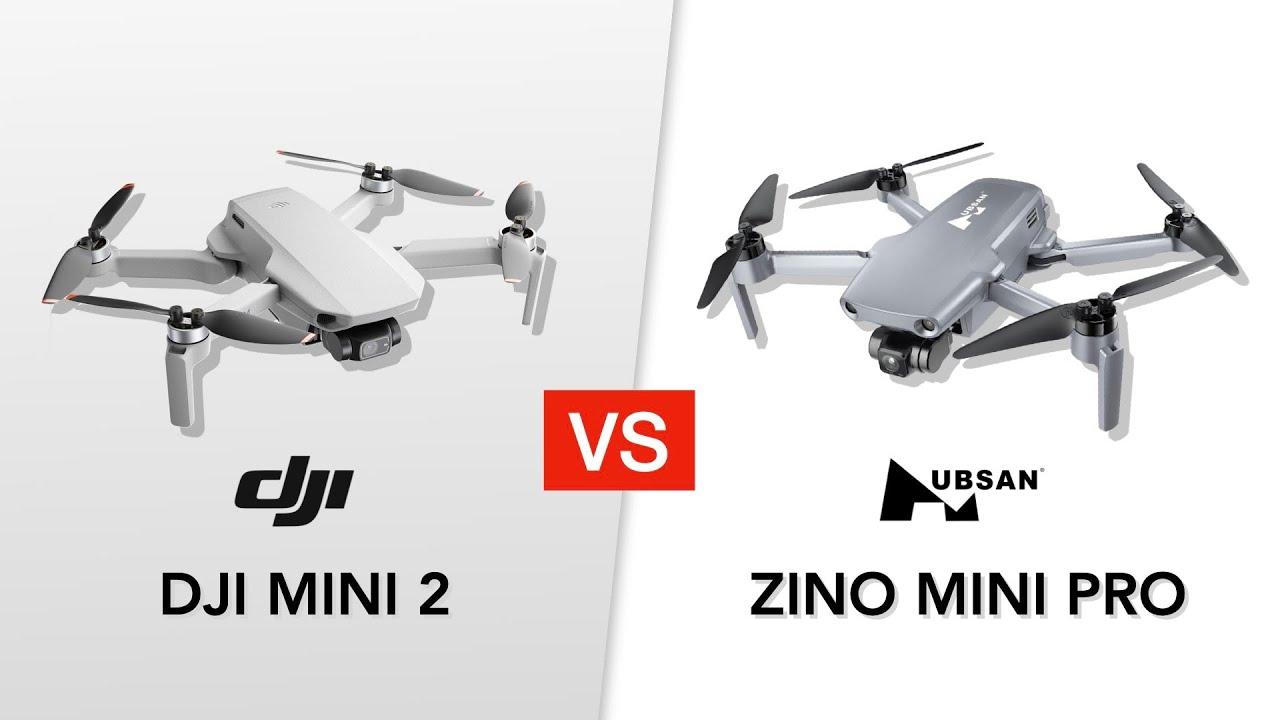 Hubsan Zino Mini Pro VS DJI Mini 2 - INDOOR HOVERING TEST