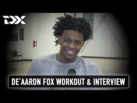 De'Aaron Fox Workout and Interview (Part Two)