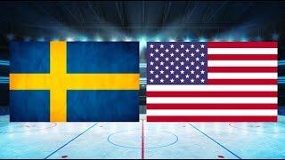 Sverige mot USA (4-2) – Jan. 5, 2018   Höjdpunkter/Mål   Junior VM 2017/18 SemiFinal