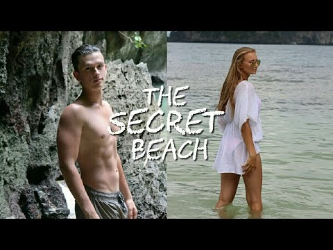 4 ISLAND TOUR KOH LANTA, Thailand - SECRET BEACH inside a Cave !