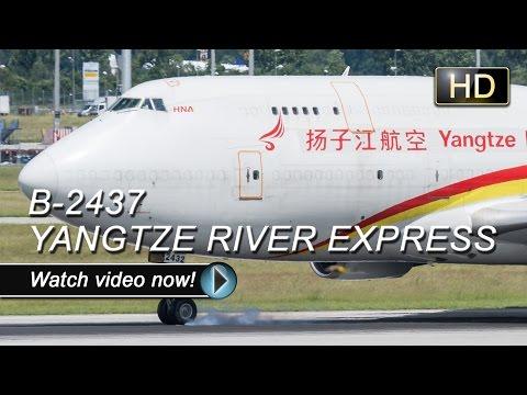 ✈B-2437 | Boeing 747-400 | Yangtze River Express | BRU - MUC✈