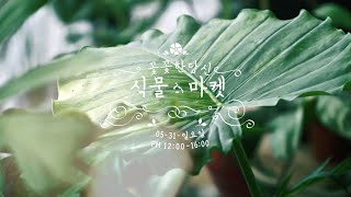 """꽃꽃한 당신에서 준비한 이벤트 """"식물마켓"""""""