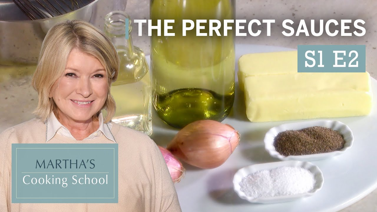 """Download Martha Stewart Teaches You the Secret to Perfect Sauces 