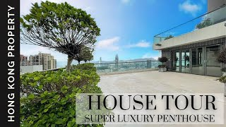 4K HOUSE TOUR | SUPER LUXURY PENTHOUSE | Hong Kong