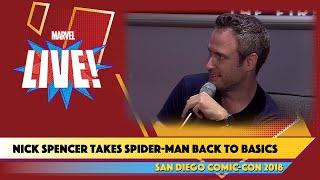 Amazing Spider-Man Writer Nick SpencerLive at SDCC 2018