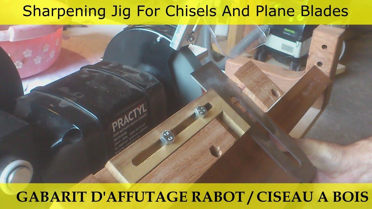 gabarit d 39 affutage ciseaux a bois sharpening jig for. Black Bedroom Furniture Sets. Home Design Ideas