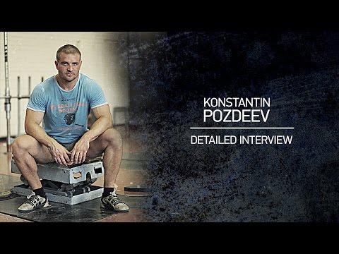 Konstantin Pozdeev. Detailed Interview.