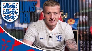 Jordan Pickford Gives his Goalkeeping Advice! | Lions' Den Episode Ten | World Cup 2018