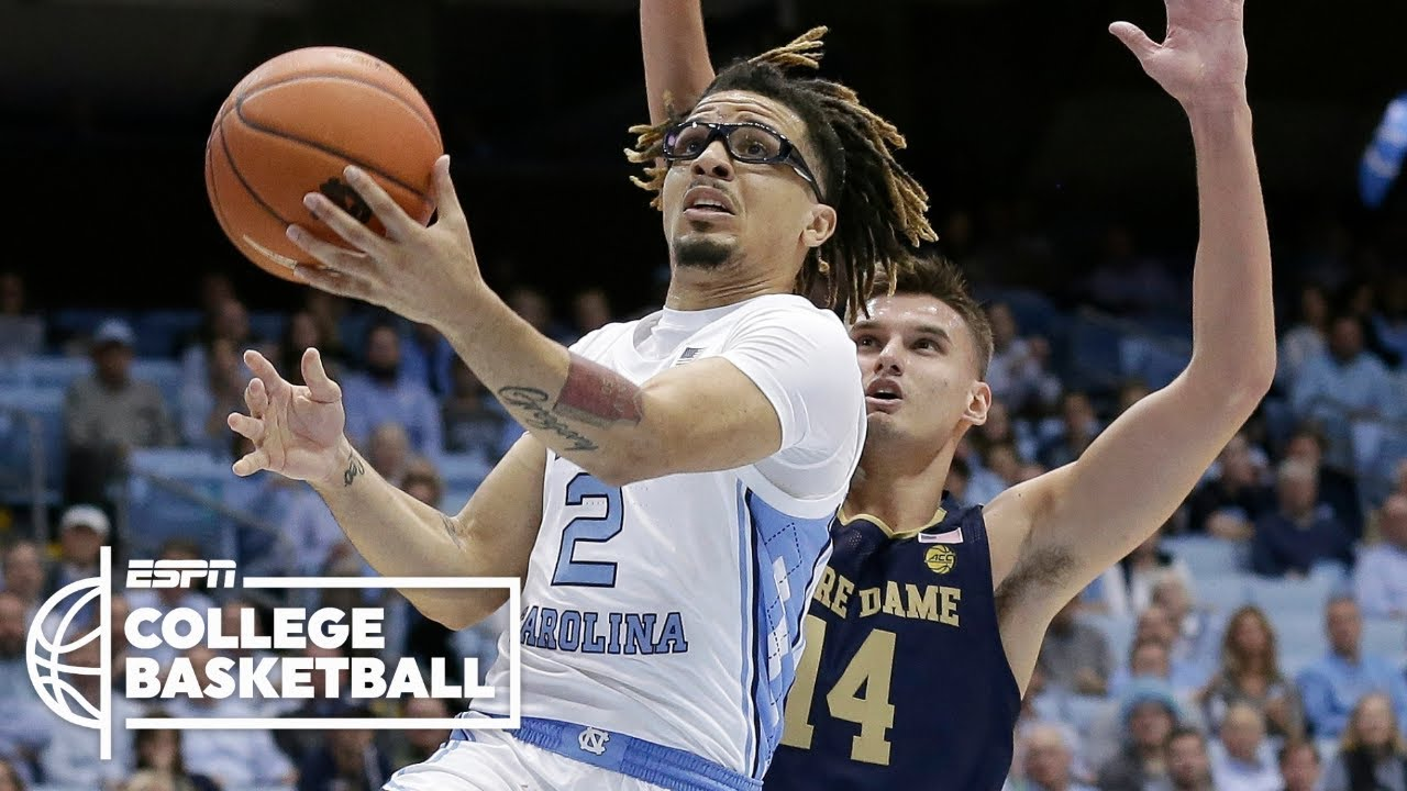 Cole Anthony sets UNC freshman record with 34 points in his debut ...