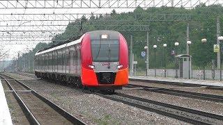 Электропоезд ЭС1-034 ''Ласточка'' Москва - Вязьма