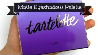 Tarte Tartelette Amazonian Clay Matte Eyeshadow Palette: Live Swatches & Review Thumbnail