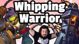 NEW Whipping Gunspire Warrior - Hearthstone Descent Of Dragons