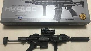Tokyo Marui HK416C Next Gen AEG Review