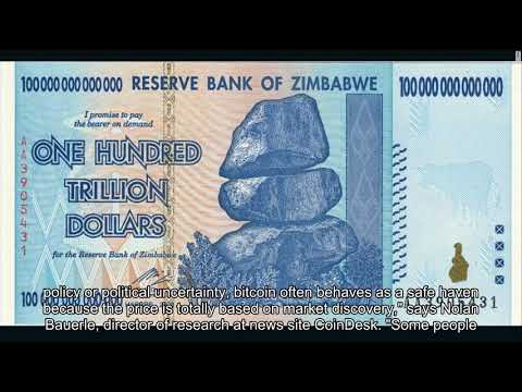 What is fueling Zimbabwe's record-breaking Bitcoin binge?