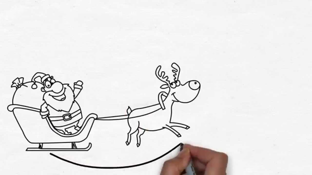 Funny christmas greetings whiteboard video animation youtube m4hsunfo