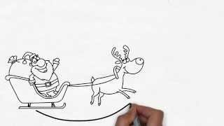 Funny Christmas Greetings Whiteboard Video Animation