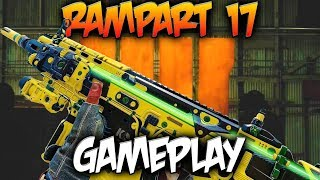 NEW Rampart 17 MKII Variant in Black Ops 4 Live Gameplay