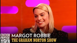 Margot Robbie's Mom Had A Snake Constrict Around Her Neck   - The Graham Norton Show