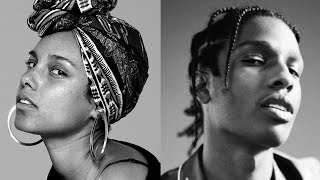 Alicia Keys Ft ASAP Rocky   Blended Family (With Lyric)