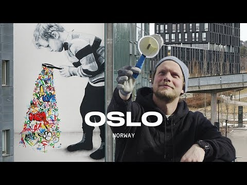 Street Art In Oslo | SPRAY With Martin Whatson: Part 5